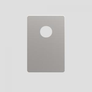 Pokrivna plošča SANIT za podometni sifon iz nerjavečega jekla