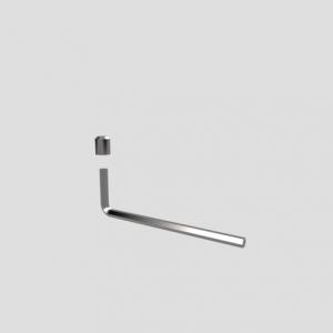 Varnostni vijak SANIT in ključ