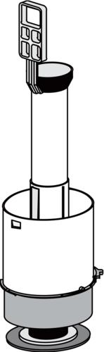 Odtočni ventil SANIT za WC splakovalnika 928 in 928U