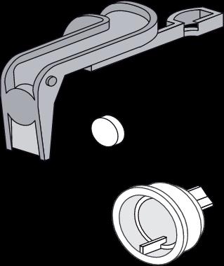 Set tesnil SANIT za univerzalni dotočni ventil 510 (multiflow)