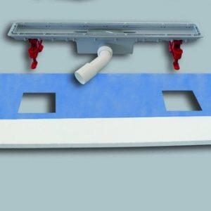 Tuš kanaleta SANIT za beton plastična Š:50 D:950