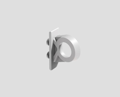 Podpora polnilnega ventila SANIT z matico za podometne splakovalnike 8 cm