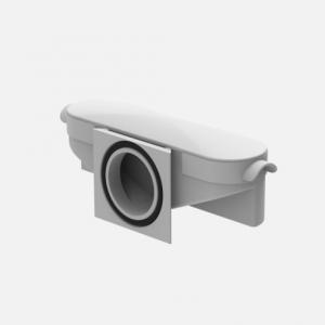 Sifon s tesnilom SANIT, sifon 62 mm