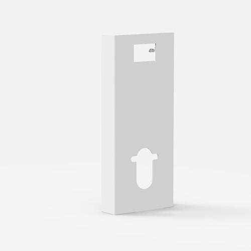 Obloga SANIT INEO SOLO za stenski WC, bela