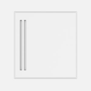 Pokrov SANIT za vgradno škatlo prezračevalca Ø 10-100