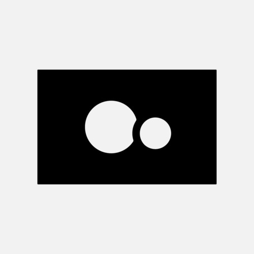 Okvir tipk SANIT, za aktivirno tipko SG 706, črni