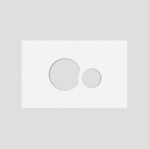 Okvir tipk SANIT, za aktivirno tipko SG 706, beli