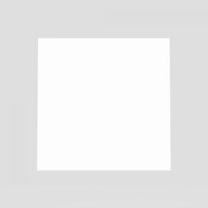 Steklo SANIT za tipko LIS, belo