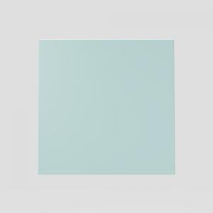 Steklo SANIT za tipko LIS, srebrno sivo