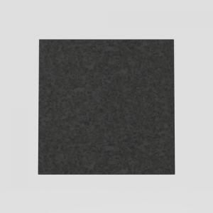 Steklo SANIT za tipko LIS, granit črno