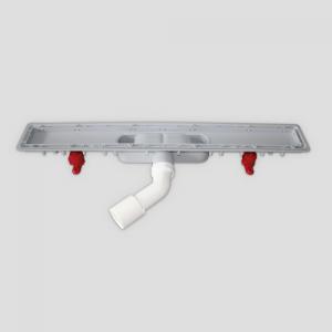 Tuš kanaleta SANIT iz plastike 650, funkcionalna enota 69 mm