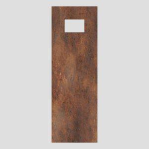 Dekorativna plošča SANIT za INEO UPDATE, zarjavelo temna