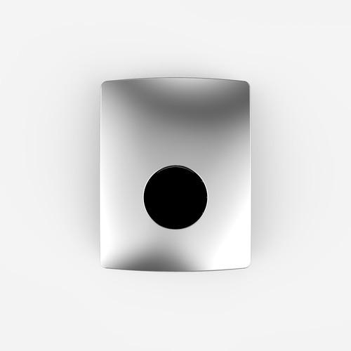 Pisoar - aktivirna tipka SANIT, infrardeča, napajanje 220,V AC, krom