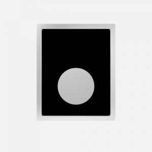 Aktivirna tipka za pisoar SANIT steklo / plastika, črna / mat krom