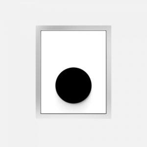 Pisoar - aktivirna tipka SANIT, steklena, infrardeča napajanje 220 V, bela