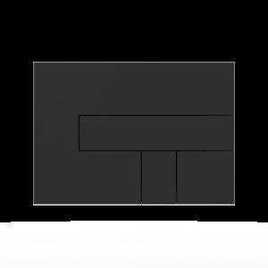 Aktivirna tipka SANIT LOS, črna