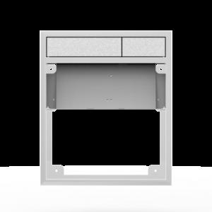 Aktivirna tipka SANIT LIS brez LED luči, brez pokrivne plošče, mat crom