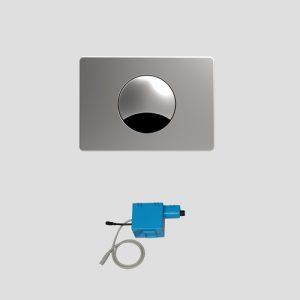 WC-infrardeče krmiljenje SANIT INEO S 705, kratkega dosega, nerjaveče jeklo