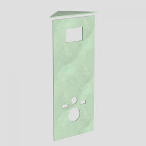 Obložna plošča SANIT za WC kotni element 995SC