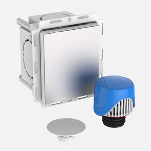 Škatla SANIT ravna z odzračevalnikom fi 30-50