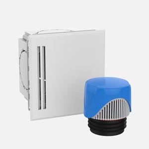 Škatla SANIT ravna z odzračevalnikom fi 70-100