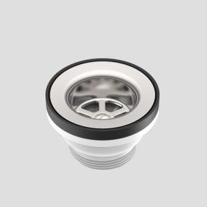 Odtočni ventil SANIT, rešetka iz nerjavečega jekla G1 1/2 fi:70 D:42