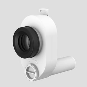Sesalni sifon za pisoar SANIT fi50/40 vodoravni priključek