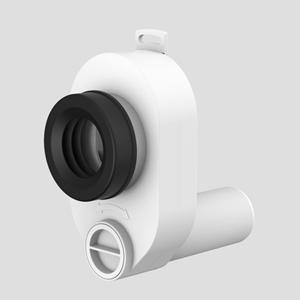 Sesalni sifon za pisoar SANIT fi50/50 vodoravni priključek
