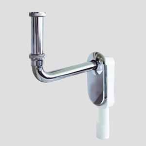 Podometni sifon SANIT za umivalnik G1 1/4 fi40/50