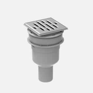 Tuš sifon SANIT za tuš ploščo 823/BS fi50, vertikalni odtok