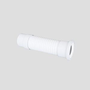 WC-Priključna cev SANIT fi 110 fleksibilna D:580, alpsko bela