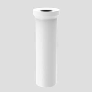 WC–Priključna cev SANIT D: 400 fi 110, alpsko bela