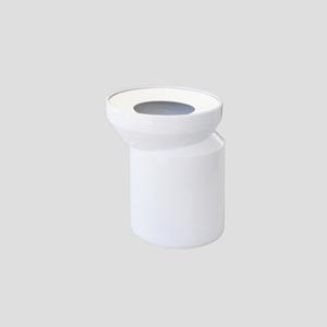 WC-ekscenter priključek SANIT D: 155 fi 110, beli