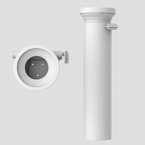WC-priključna cev SANIT D: 400 fi 110 z zapiralno loputo