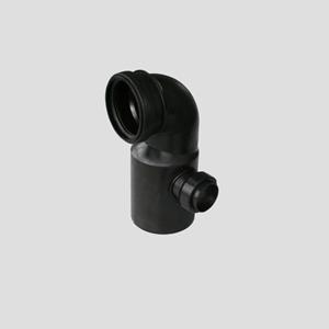 WC-priključno koleno SANIT 90° fi 90/110 z desnim priključkom