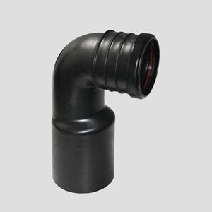 WC-priključno koleno SANIT 90° fi 90/fi 110 z 3-nastavki za objemko