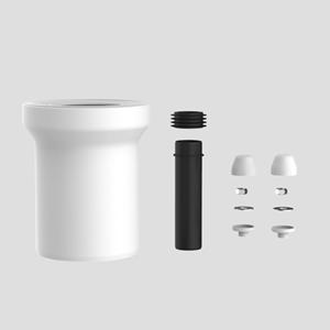 WC-priključna garnitura SANIT D:160 fi 110 komplet, bela