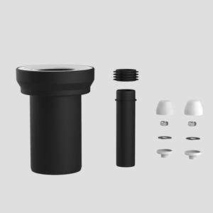 WC-priključna garnitura SANIT D: 180 fi 90, komplet