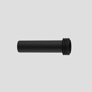 WC-priključna cev SANIT s tesnilom, D:250 mm, črna
