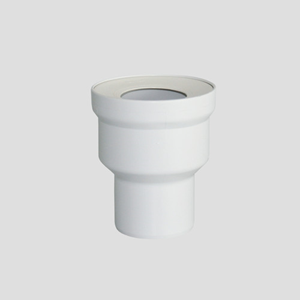 WC-priključni del SANIT, D:160 fi90, alpsko beli