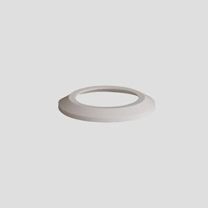 WC-ravna rozeta SANIT, fi:110, alpsko bela