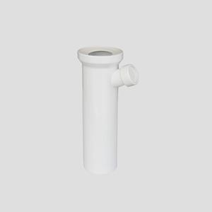 WC-priključni del SANIT, D:400 fi 110, alpsko beli