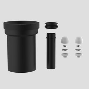 PE WC priključna garnitura SANIT fi 110, 180 mm, bela