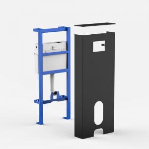 Sanitrani modul SANIT INEO SOLO Talna WC-školjka, črni