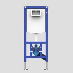 WC element SANIT INEO PLUS 450 s stenskimi nosilci