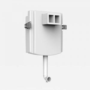 Podometni-Splakovalnik SANIT INEO aktiviranje od spredaj