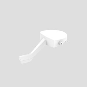 Aktivirna tipka SANIT start/stop za WC splakovalnik 951, alpsko bela
