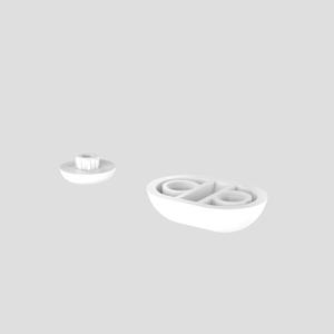 Blažilni set SANIT za WC-deske iz Termoplasta