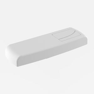 Pokrov s tipko SANIT za WC splakovalnik 928/2V, beli