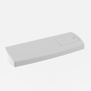 Pokrov s tipko SANIT za WC splakovalnik 928, beli